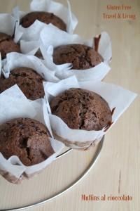 Muffins al cioccolato- Gluten Free Travel&Living