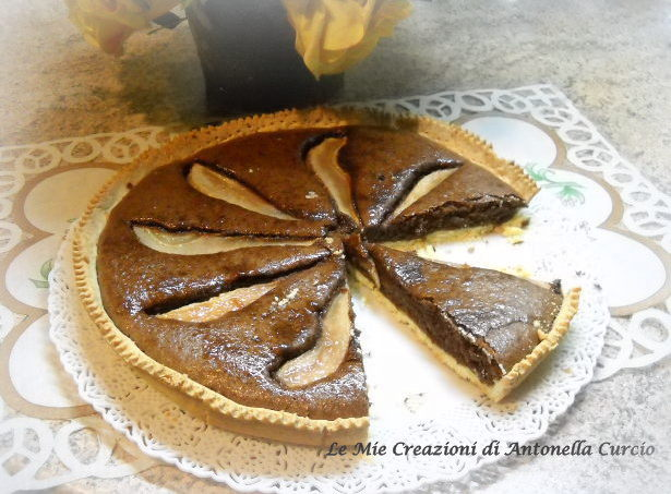 crostata cioccolato e pere - Gluten Free Travel and living