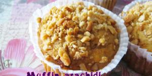 Muffin arachidi e banana