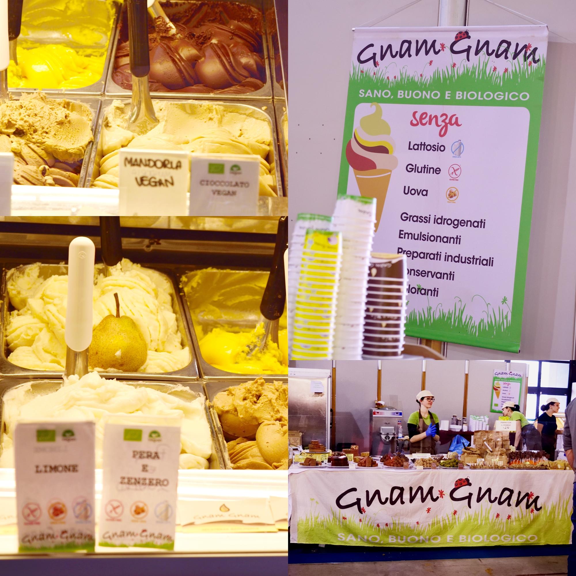 Gelateria Gnam Gnam, non solo senza glutine ma con tantissimi senza, Nutrisan - Gluten Free Travel and  Living