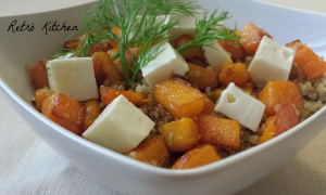 quinoa zucca e feta - Gluten Free Travel and Living