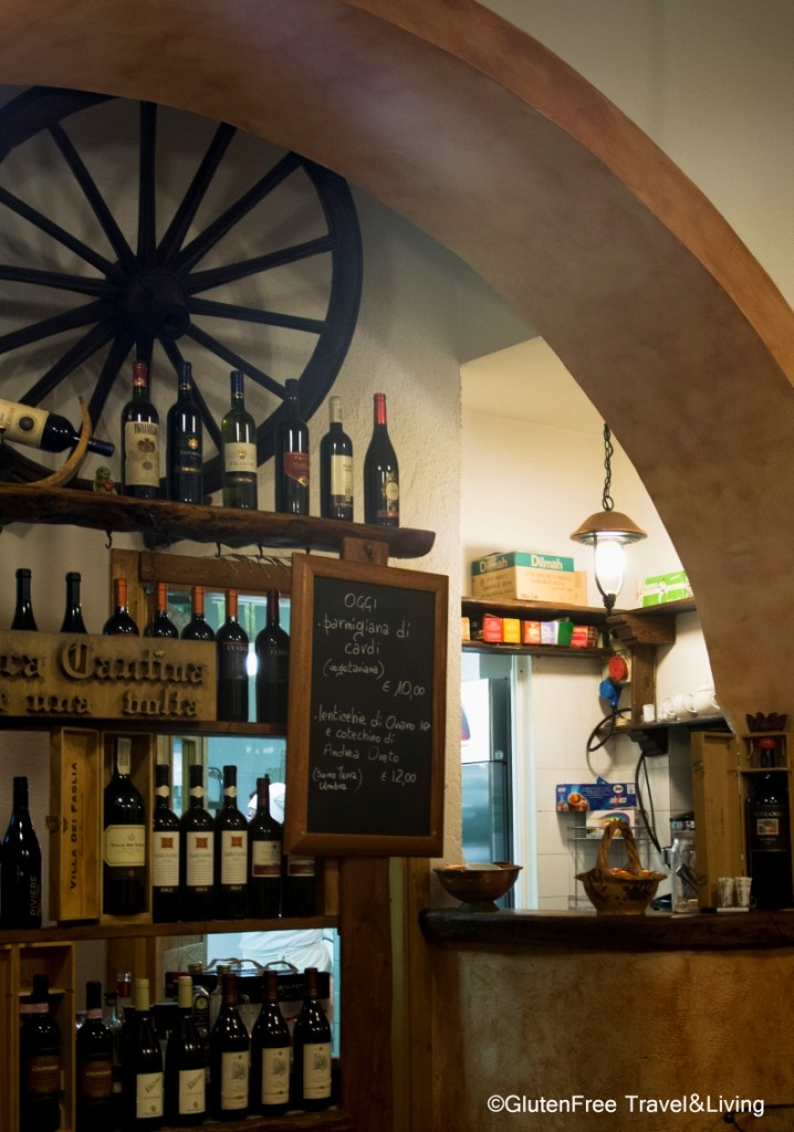 Orvieto Antica Cantina - Gluten Free Travel and Living