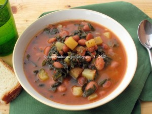 Zuppa cavoletti e fagioli - Gluten Free Travel and Living