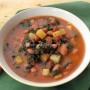 Zuppa di cavoletti e fagioli alla giulianese