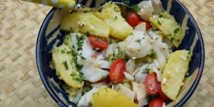 insalata tiepida di baccalà