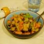 Gnocchetti di farina di castagne con zucca e pioppini