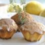 Muffin al limone e timo con olio di oliva