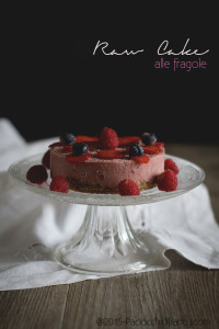 raw cake alle fragole - Gluten Free Travel and Living