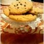 Cookies senza glutine con burro di arachidi e gocce di cioccolato