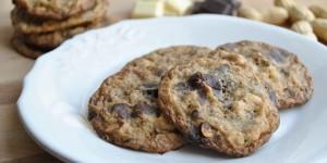Cookies alle arachidi e doppio cioccolato