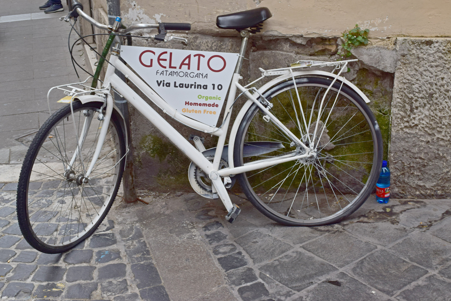 Gelateria Fata Morgana in Via Laurina - Gluten Free Travel and Living