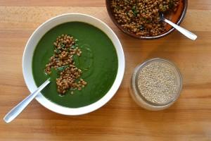 crema di spinaci e asparagi - Gluten  Free Travel and Living