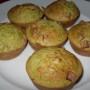 Muffin salati di quinoa con zucchine e prosciutto