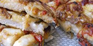 Pizza con i Peperoni Senza Glutine