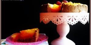 Finta cheesecake gluten free con crema all'acqua