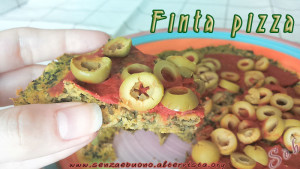 finta pizza con ceci e spinaci - Gluten free Travel & Living