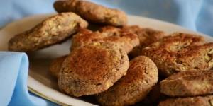 Biscotti vegani senza zucchero
