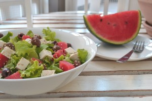 insalata di anguria - Gluten Free Travel & Living