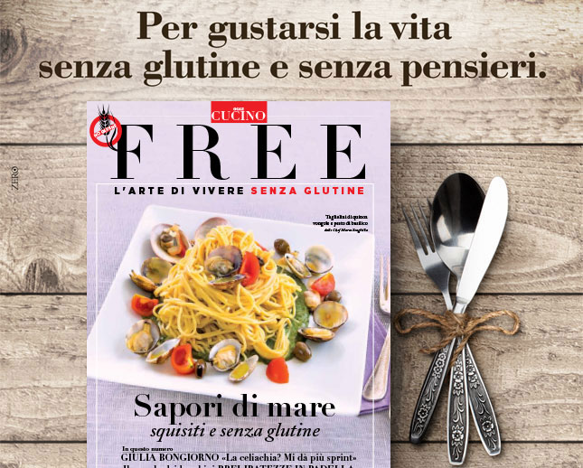 Rivista Free agosto - Gluten free Travel & Living