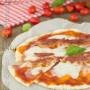 Pizza con lievito madre e pancetta