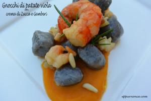 gnocchi di patate viola - GLuten Free Travel & Living