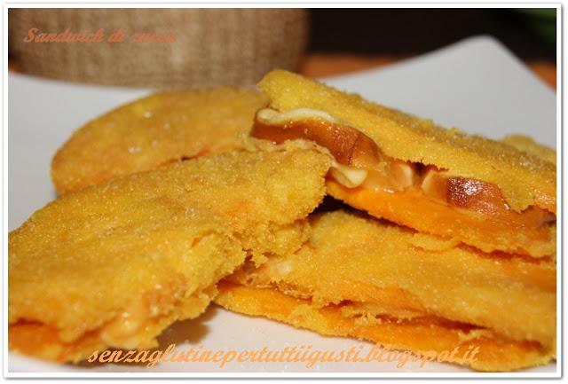 Sandwich di zucca e scamorza affumicata Di Annalisa Iacobellis