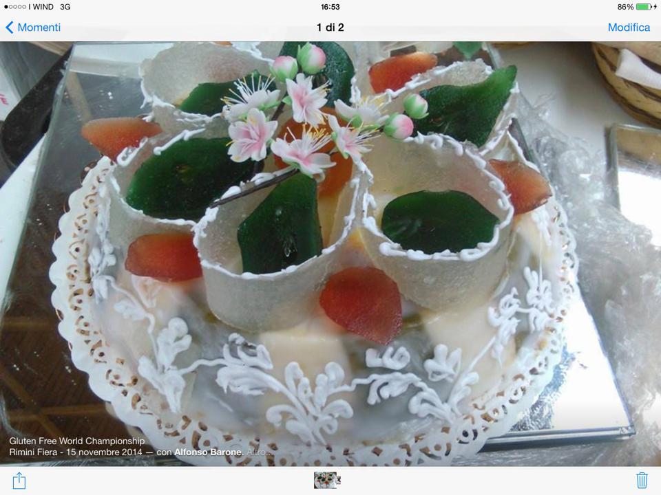 Cassata siciliana gluten free di Produzione gluten free di Alfonso Barone - Gluten Free Travel and Living