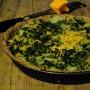 Torta salata con bietole, patate e formaggio vegan