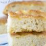 Pan focaccia con lievito madre senza glutine