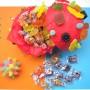 CARNEVALE senza glutine: sfere di caramelle