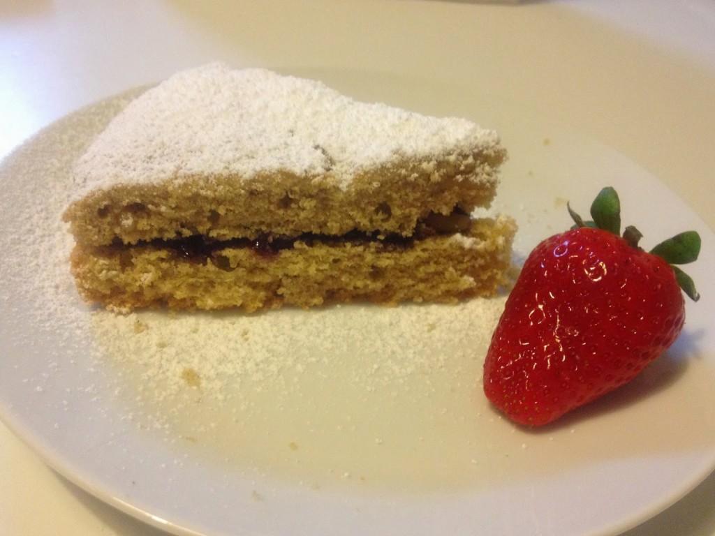 La torta con grano saraceno di Raffaella