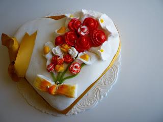 La torta a Cuore di Sonia