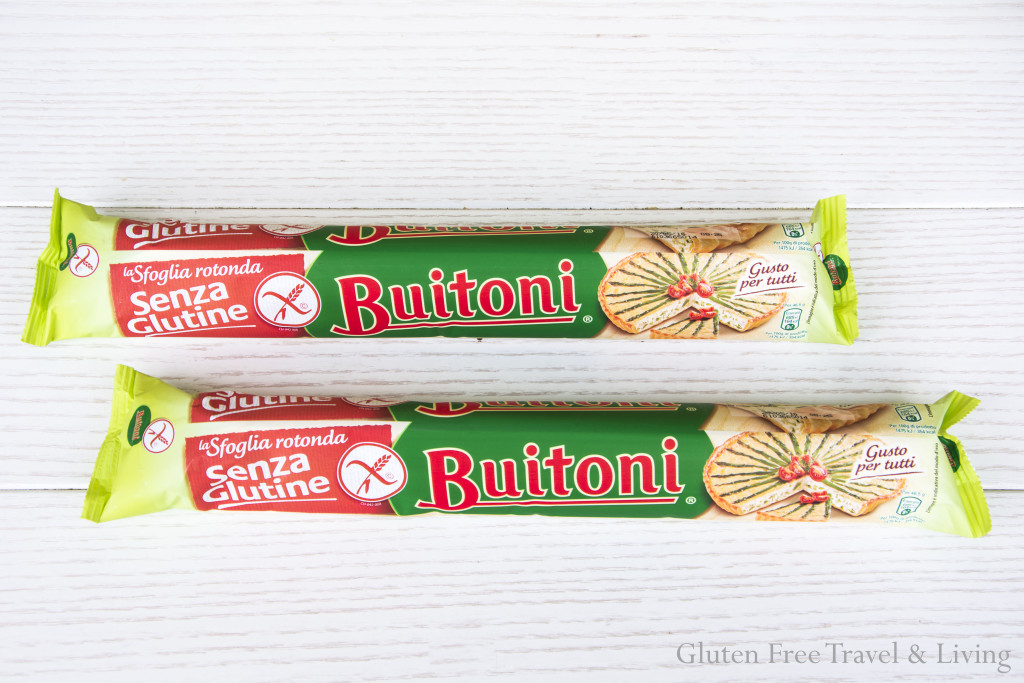 Pasta Sfoglia Buitoni -Gluten Free Travel and Living