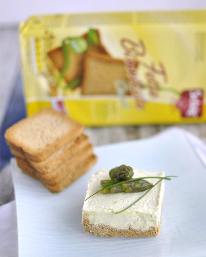 Cheesecake salata con fette biscottate Cereali Schär - Gluten Free Travel and Living