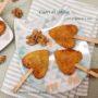 Cuori di sfoglia con gorgonzola e noci