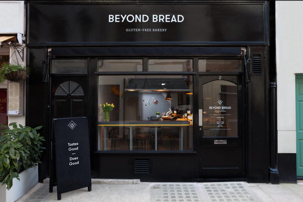 Londra senza glutine Beyond Bread