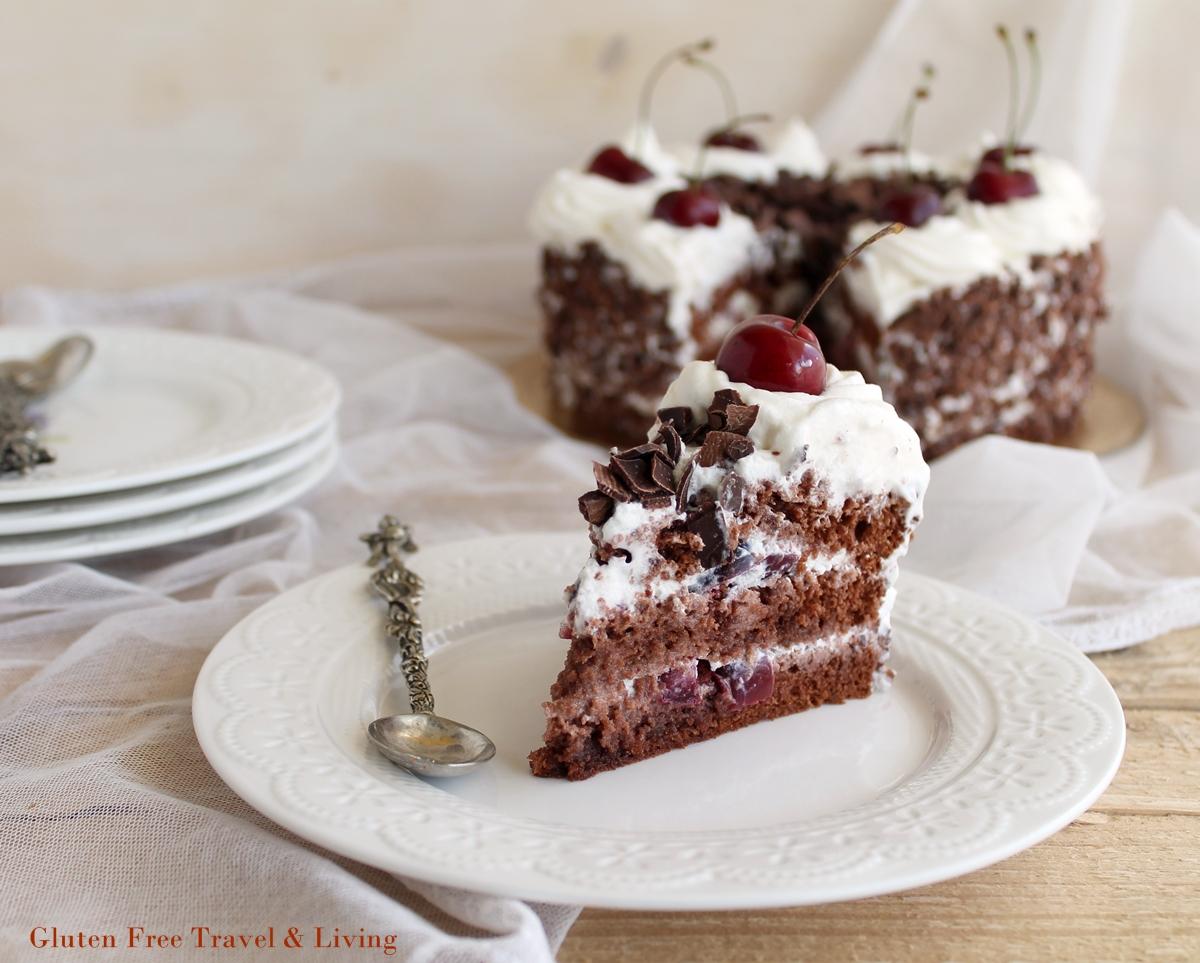 Torta Foresta nera senza glutine: la video ricetta - Gluten Free Travel and Living