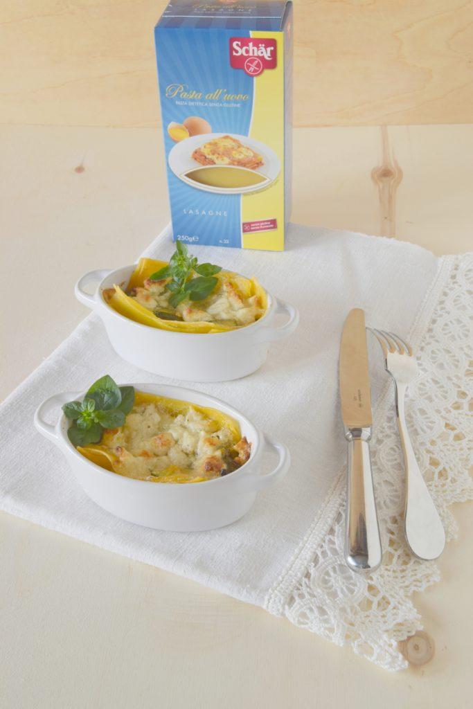 Lasagne alle zucchine e feta con lasagne all'uovo Schär - Gluten Free Travel and Living