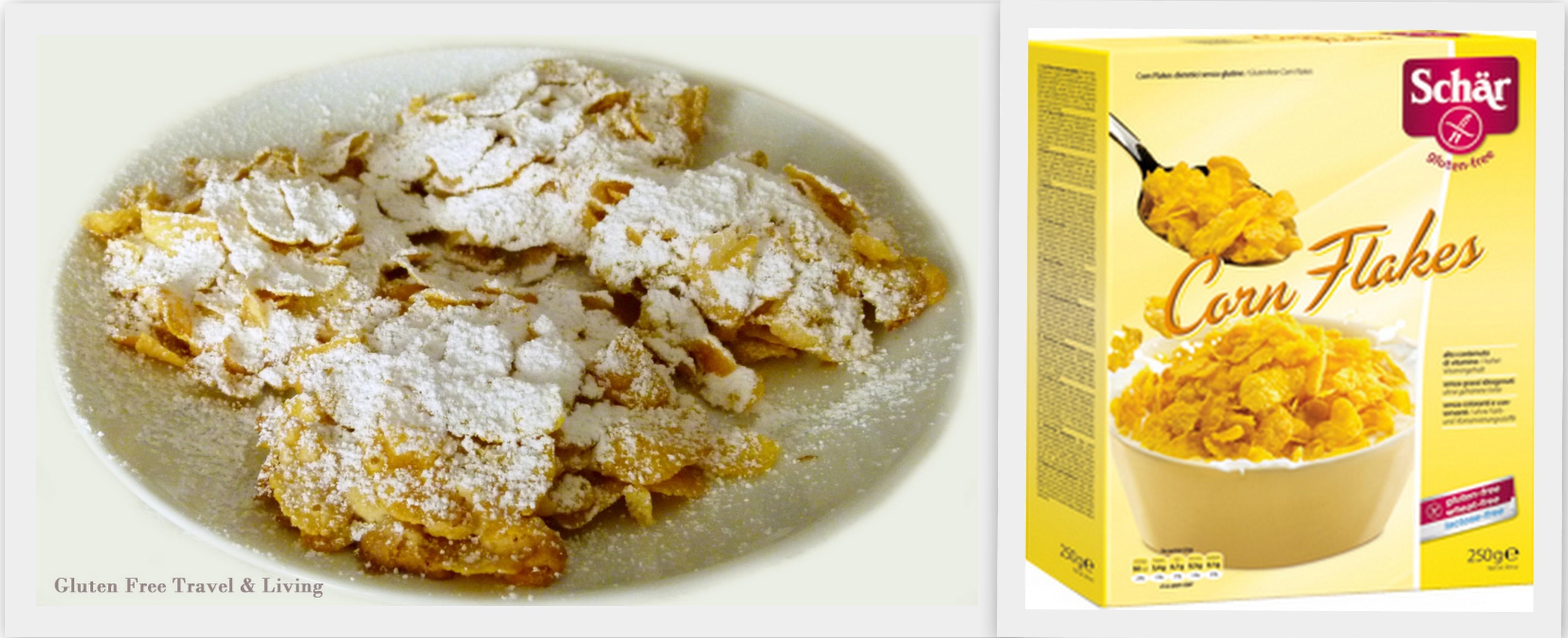 Rose del deserto senza glutine con Corn Flakes Schär - Gluten Free Travel and Living