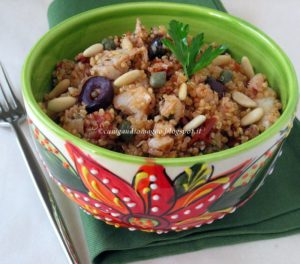 Quinoa al baccalà - Gluten Free Travel and Living