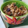Quinoa tiepida con baccalà scottato al vino bianco e sapori mediterranei