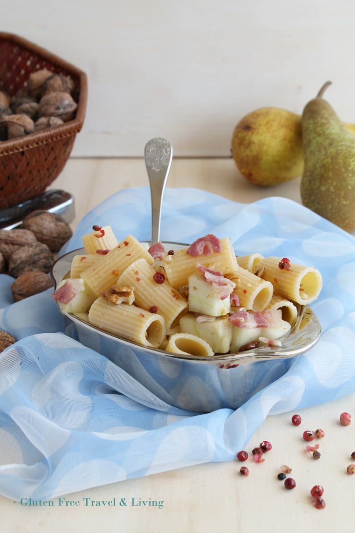 Insalata di pasta con le pere senza glutine - Gluten Free Travel and Living