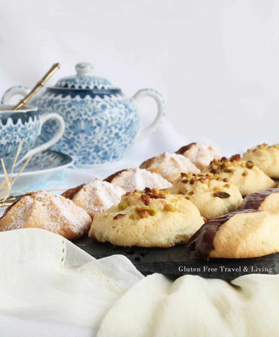Petits fours senza glutine con la Mix C Schaer - Gluten Free Travel and Living