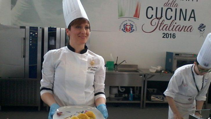 Cuciniamo i funghi con la Lady Chef Lorena De Sabata