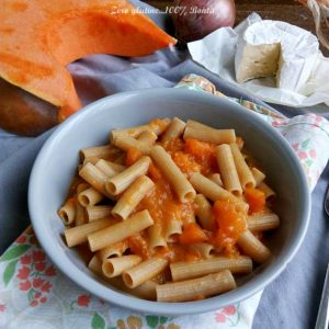 pasta cremosa alla zucca - Gluten Free Travel and Living