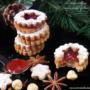 Linzer cookies vegan senza glutine