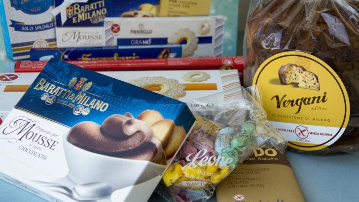 Pacco di Natale senza glutine