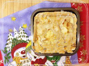 Pasta brisè senza glutine con pere e gorgonzola