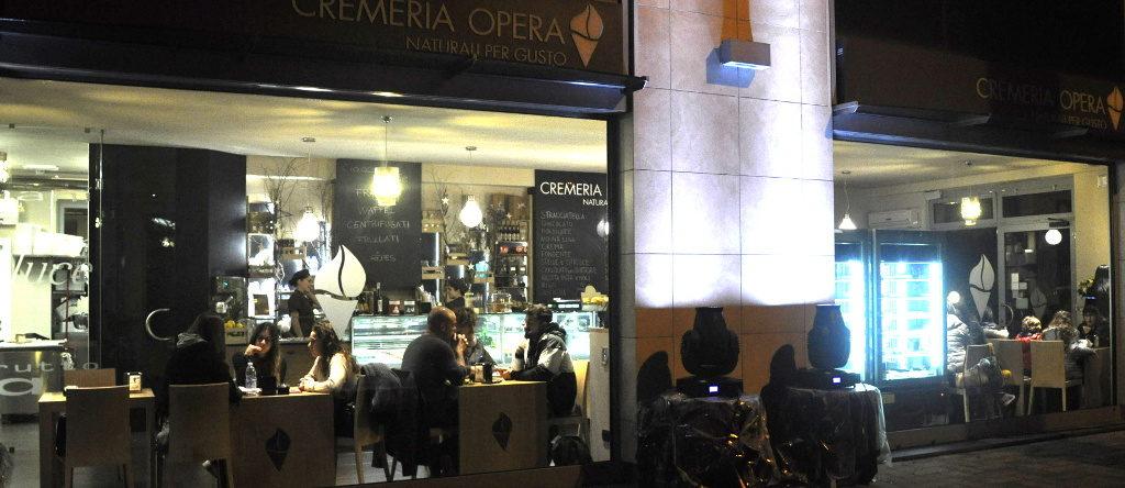 Cremeria Opera - Vetrina