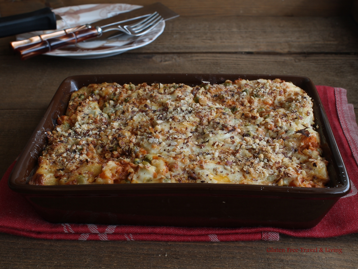 "Lasagne ""Free From"" - Gluten Free Travel and Living"
